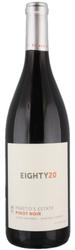 2016 Pareto\'s Estate Eighty20 Pinot Noir