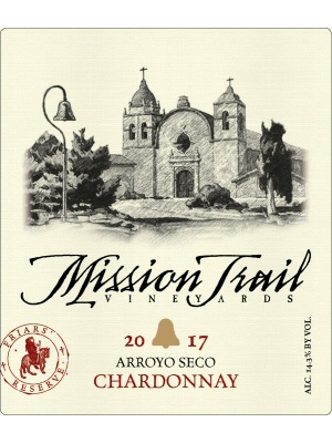 Product Image for 2017 Mission Trail Vineyards Reserve Chardonnay
